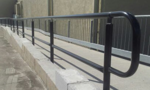 Steel handrails Brisbane